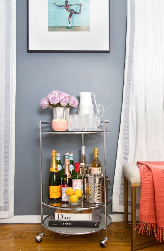 Teen Vogue Editor Elaine Welteroth's Tiny But Mighty Studio Apartment Makeover - sohautestyle.com