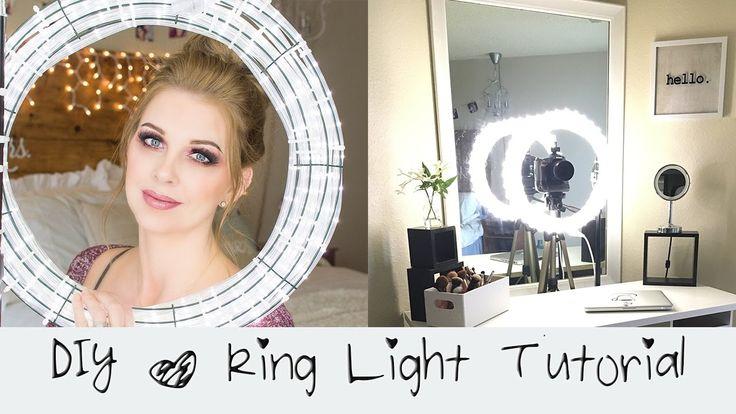 DIY Ring Light Tutorial || Diva Light || Do it yourself