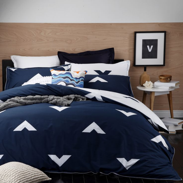 Vespa Ink by Logan & Mason. Available in single, double, queen and king quilt cover set