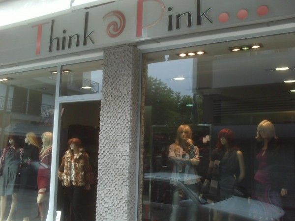 Think Pink Boutique #Kos with a mixture of designer women's clothing to get that new look when on #Kos2014