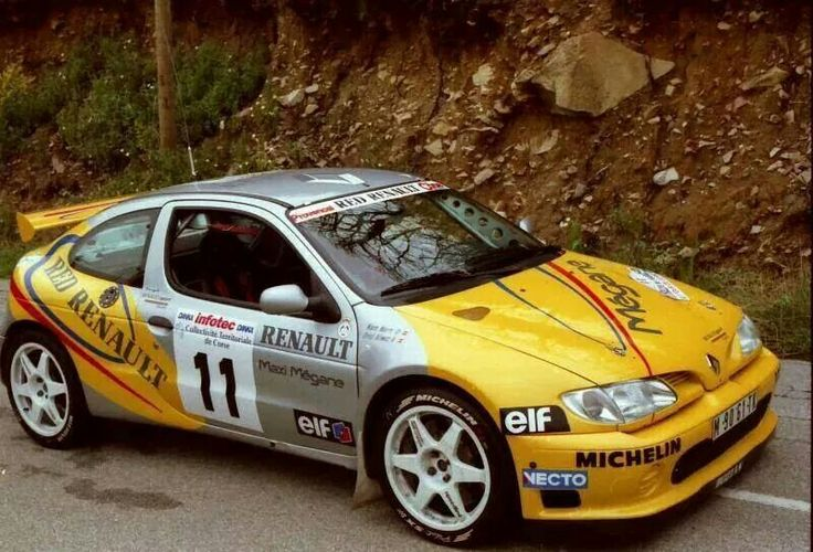 Renault Megane Rally Car