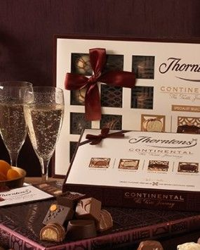 """I love the Internet! Today I discovered Thorntons chocolates (which I'd never heard of before). I found myself thinking """"Oh, PLEASE let us be related!"""""""