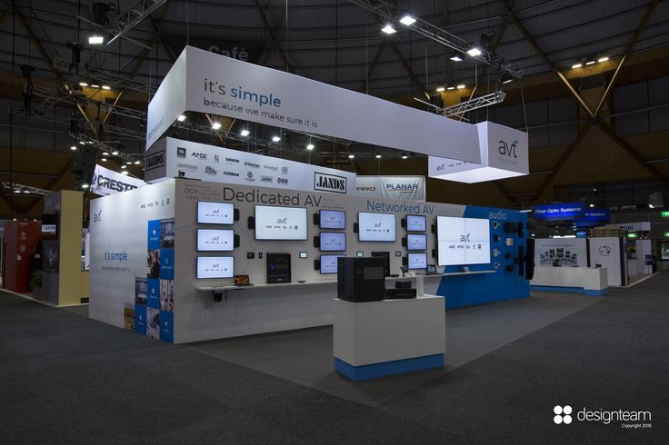 AVT @ Integrate communicates both its advanced technology and its position within the audio visual industry