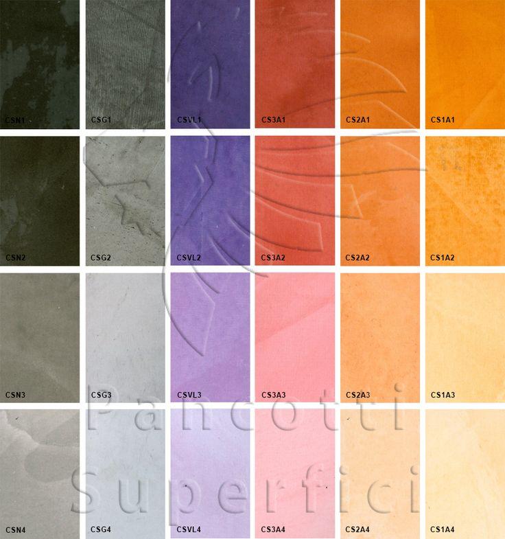 I colori del Sole | Pancotti Superfici Colori 2013