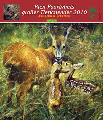 Rien Poortvliet dieren kalender 2010 lb xxx.
