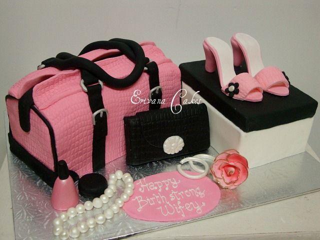 Les plus beaux gâteaux d'anniversaire en forme de sac à main