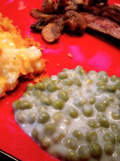 Every time I go over to Granny's house for dinner or for a holiday, I know I can expect one of three things: vegetable soup, strawberry pretzel salad, or creamed peas. I have to admit, I am a sucke...