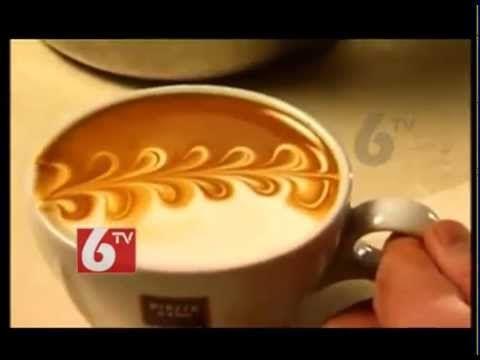 Art of Painting on Coffee - 6TV Wonders