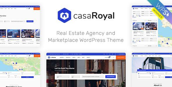 CasaRoyal Real Estate WordPress Theme Free Download CasaRoyal