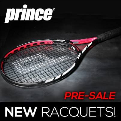 New #Prince #Racquets are available today!