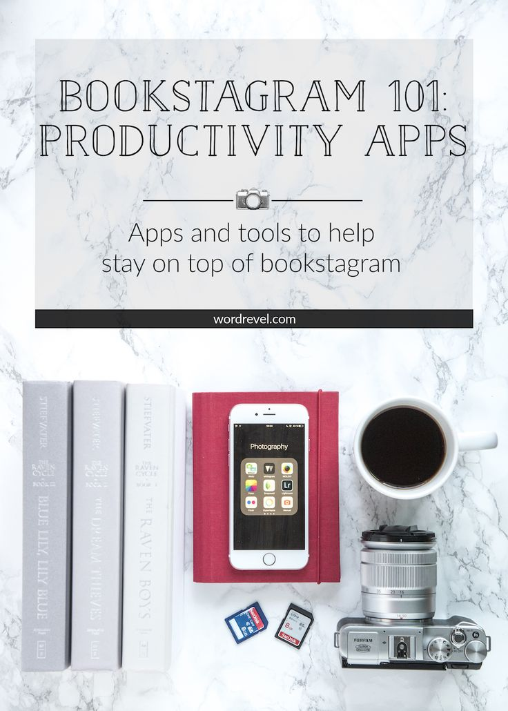 Bookstagram 101: Productivity Apps | Bookstagram can quickly take over a lot of free time. In order to keep having fun without feeling overwhelmed, I've rounded up some helpful apps. Some like Latergramme are great for scheduling and others like Squarelovin keep track of stats on Instagram.