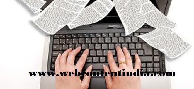Website content writing services jobs