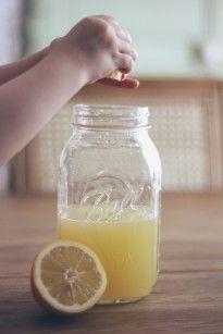La mariee aux pieds nus - DiY - Rectte - Citronnade maison - Presser les citrons