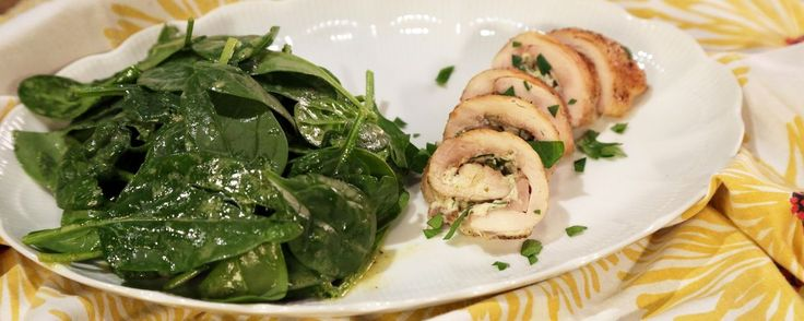 Cheesy Herbed Stuffed Chicken Thighs Recipe | The Chew - ABC.com