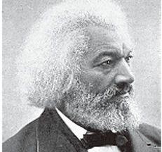 미국 흑인 노예 제도 반대 지도자, 프레더릭 더글러스. Frederick Douglass.