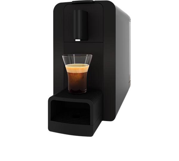 Kaffeemaschine Delizio Compact One Automatisch Graphite Black