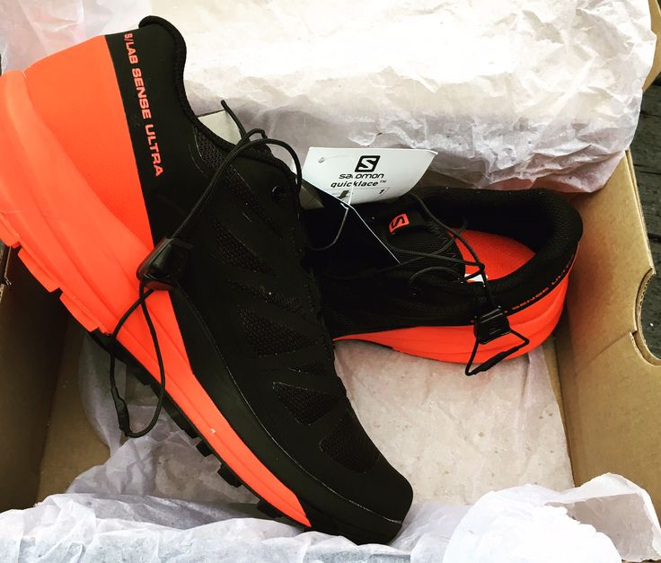 My new #trailrunning shoes by Salomon
