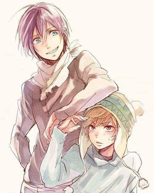 Yato and yukineeeeeee I love this show soo much an…