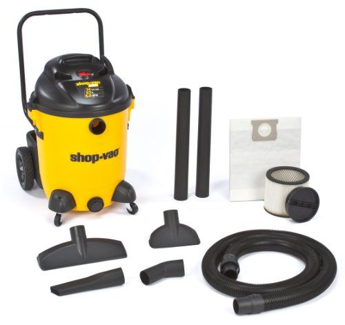 Shop-Vac 9651400 6.0-Peak Hp Pro Series Wet Or Dry Vacuum With Vacuum Cart, 14-Gallon, 2015 Amazon Top Rated Wet/Dry Vacuums #HomeImprovement
