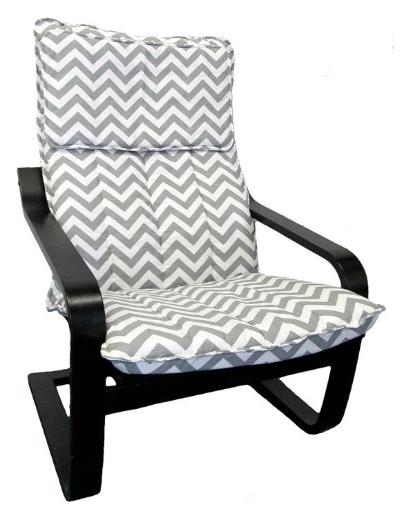 Ikea Schuhregal Tjusig Weiß ~ Poang Chair cover  Basement family room  Pinterest