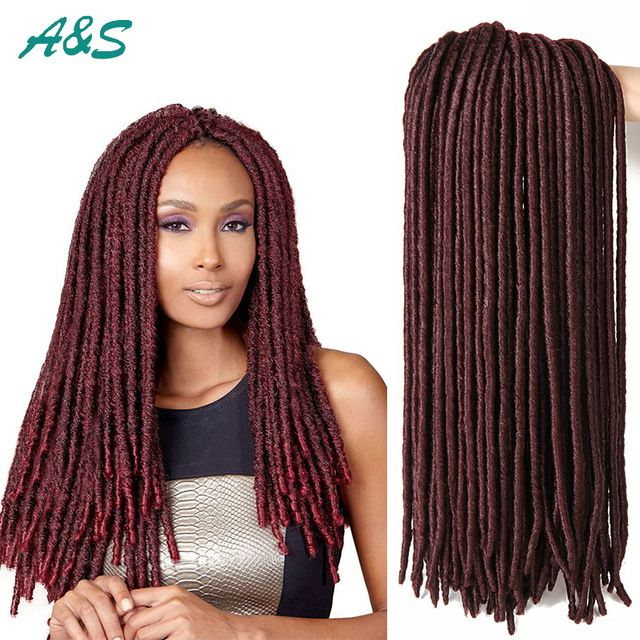 Crochet Faux Locs Braiding Hair synthetic braiding hair crochet braids ...