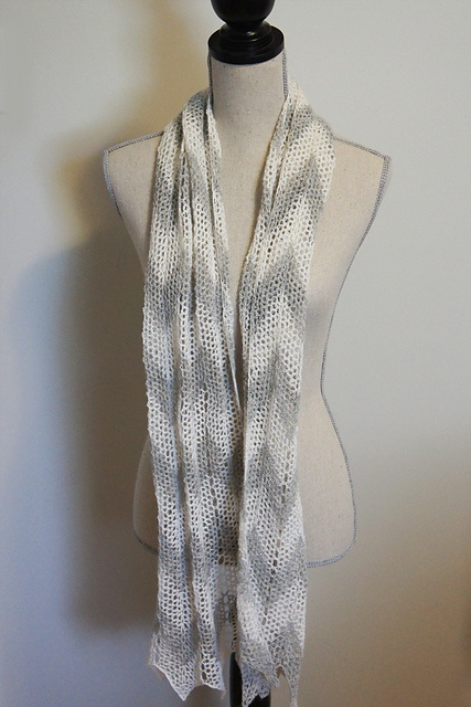 Ravelry: Chevron Lace Scarf crochet pattern by Tara Schreyer