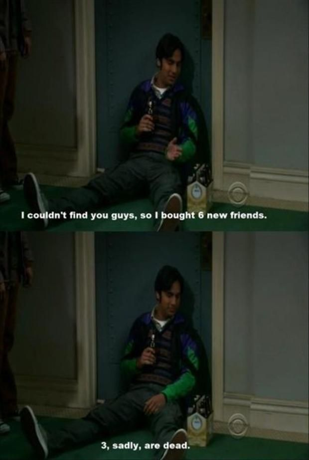 the big bang theory funny quotes | Dump A Day funny big bang theory, raj quotes - Dump A Day