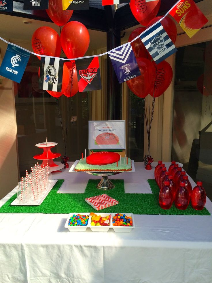I am woman, hear me RAW: How to Host an AFL Birthday Party