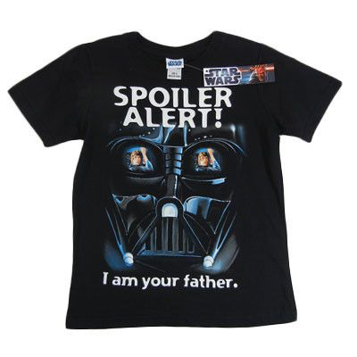 Boy's Black Darth Vader T-Shirt
