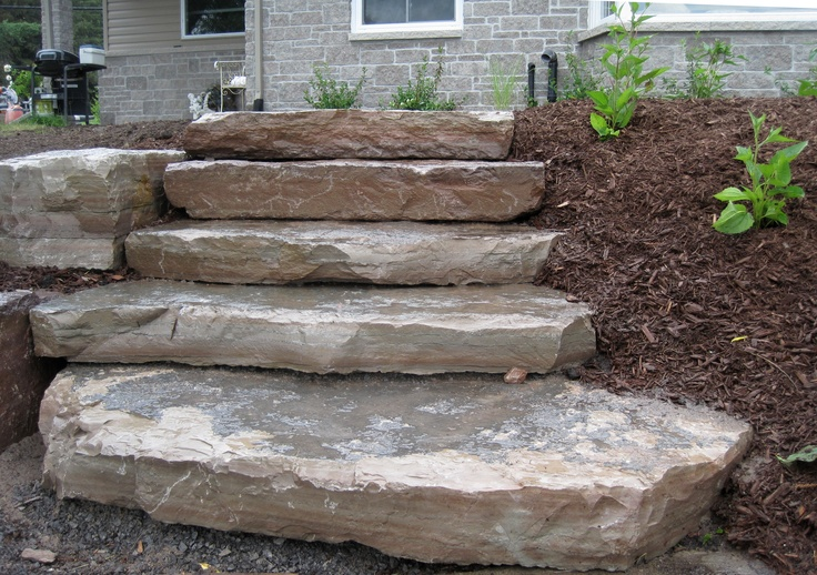 20 best images about random steps on pinterest canada for Landscaping rocks canada