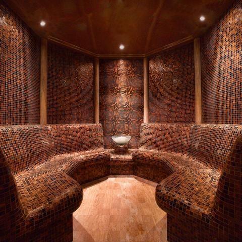 Grand Hyatt Dubai Ahasees Spa Club Interior Design By