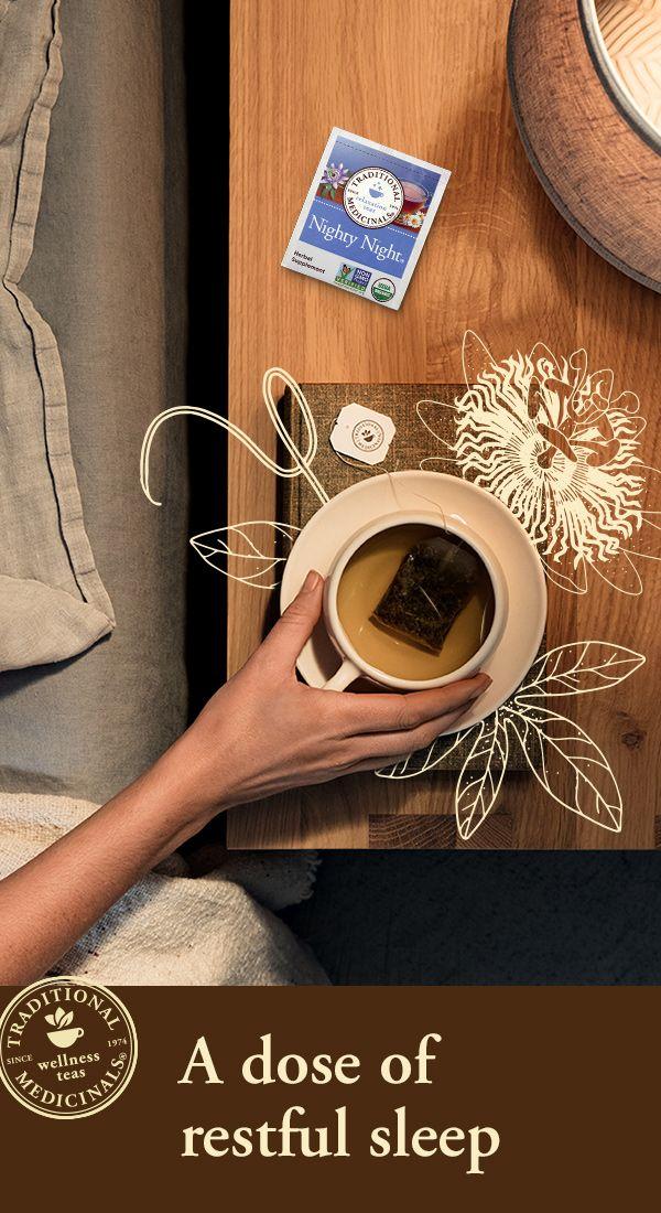 Nighty Night Sleep Tea Traditional Medicinals Herbal Teas Sleep Tea Nighty Night Tea Natural Sleep Remedies