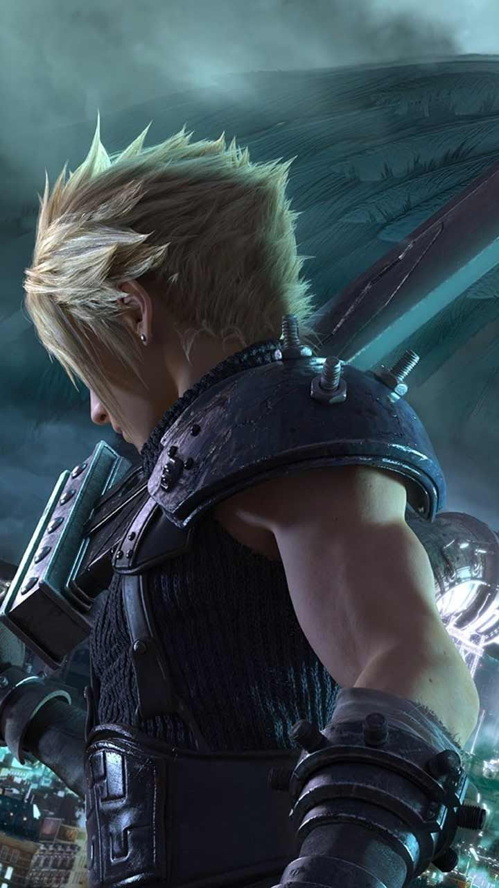Final Fantasy 7 Remake Wallpaper Hd Phone Backgrounds Ps4 Game Art Poster Logo On In 2020 Final Fantasy Cloud Strife Final Fantasy Vii Cloud Final Fantasy Wallpaper Hd