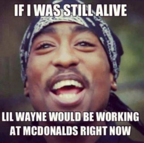 Cool Fresh Lil Wayne Working At Mcdonalds Hip Problems Funny Birthday Cards Online Elaedamsfinfo