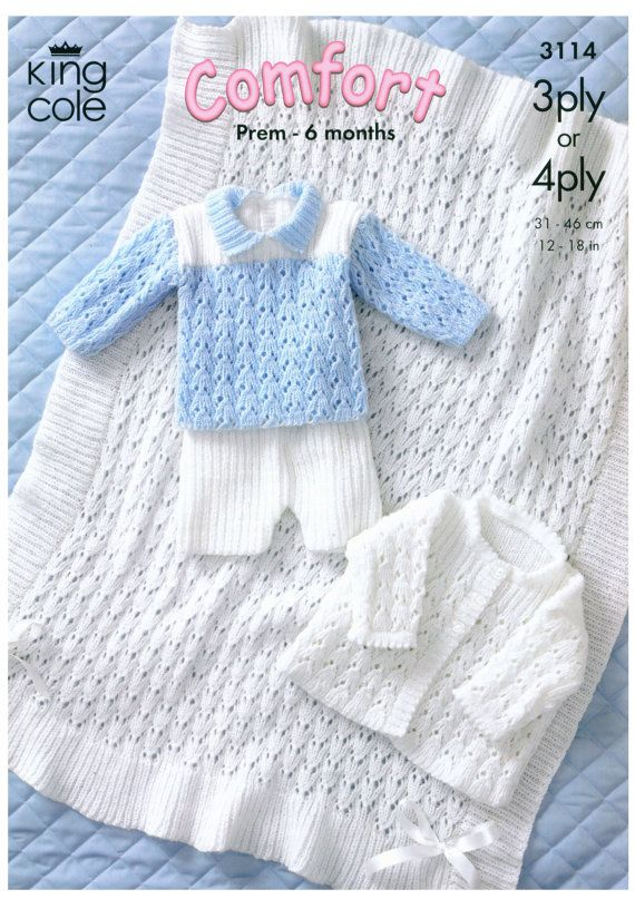 Jacket, Shawl, Sweater and Shorts Baby Knit