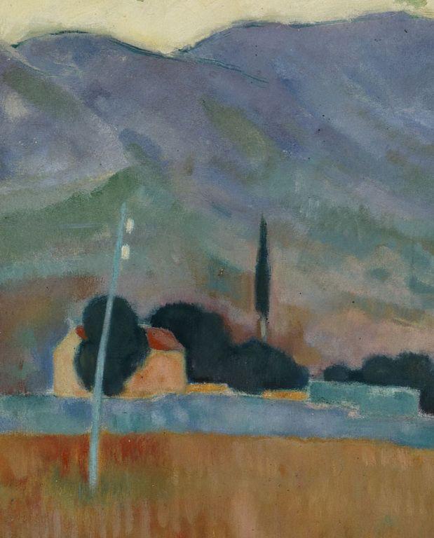 Constantine Parthenis-Landscape, for 1909 - 1911 2