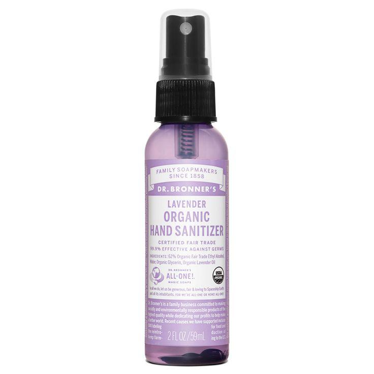 Dr. Bronner's Lavender Organic Hand Sanitizer - 2 oz.