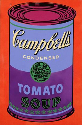 25 best ideas about campbell 39 s soup cans on pinterest andy warhol soup cans campbell soup. Black Bedroom Furniture Sets. Home Design Ideas