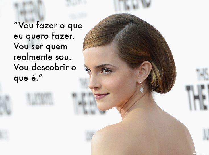 7 frases de Emma Watson que vão desafiar sua opinião sobre os jovens de Hollywood