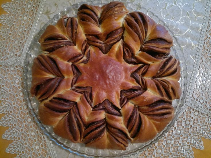 Nutella star bread :)