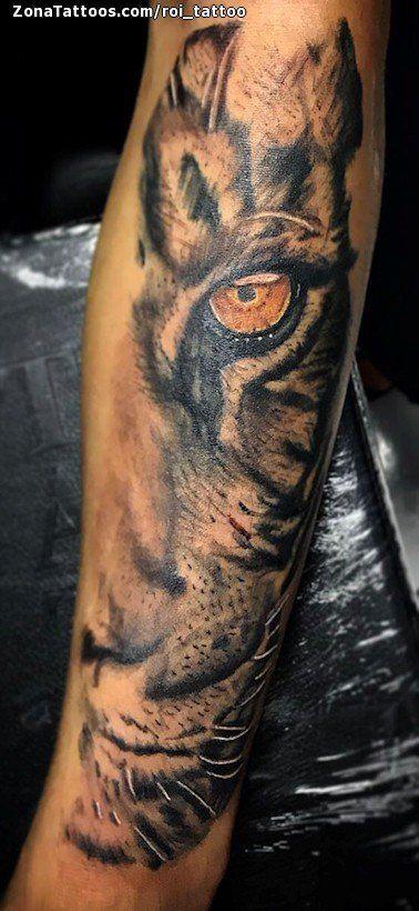 Tatuaje hecho por Roi de La Coruña (España). Si quieres ponerte en contacto con él para un tatuaje/diseño o ver más trabajos suyos visita su perfil: https://www.zonatattoos.com/roi_tattoo  Si quieres ver más tatuajes de leopardos visita este otro enlace: https://www.zonatattoos.com/tag/506/tatuajes-de-leopardos  Más sobre la foto: https://www.zonatattoos.com/tatuaje.php?tatuaje=111403