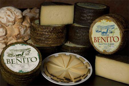 Los quesos de oveja Queso Benito (quesoampli)  http://jamonesbenito.com/portfolio-item/queso-benito  Queso Oveja Benito Media Curación Queso Oveja Benito Curado Queso Mezcla Benito