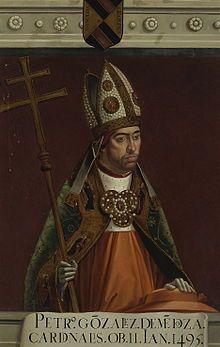 Pedro González de Mendoza - Wikipedia
