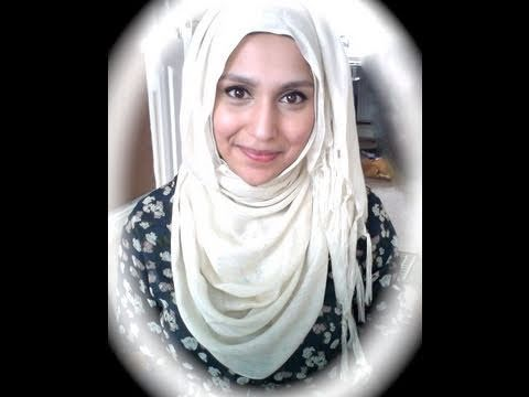 "How to tie a Hijab a la ""Summer Jedi"""
