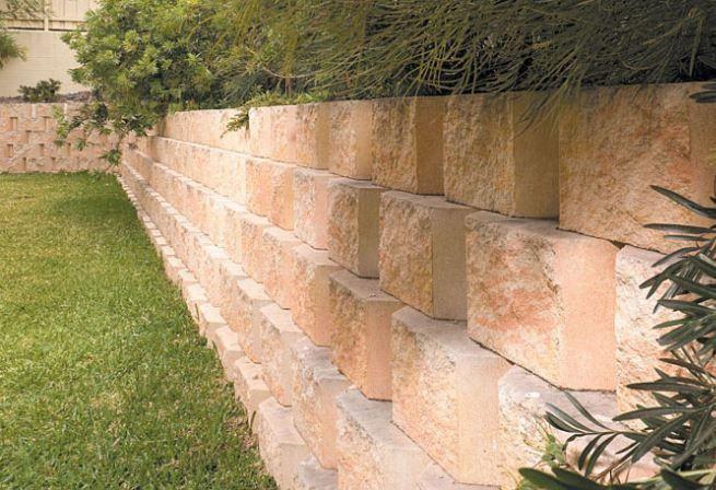 GB Masonry Moreton Retaining Wall