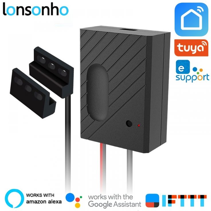 Lonsonho Smart Garage Door Opener Wifi Switch Relay Remote