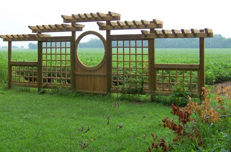 Garden Structures Gates and Fencing