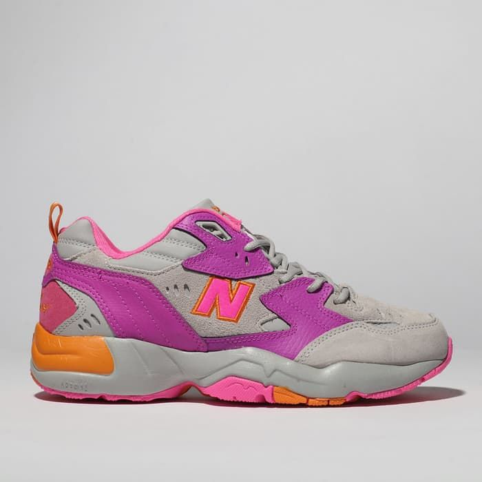 womens pink new balance 608 trainers