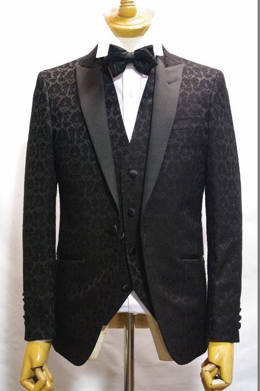 ダマスクタキシードスーツ