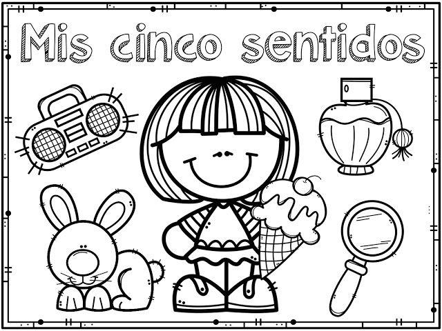 Material Educativo De Los Cinco Sentidos Para Imprimir Los Cinco Sentidos En Preescolar Los Sentidos Para Ninos Material Educativo